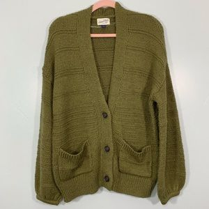 Universal Thread | Green Comfy Oversized Cardigan